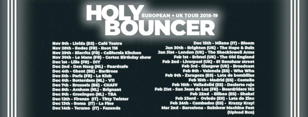holy bouncer tour