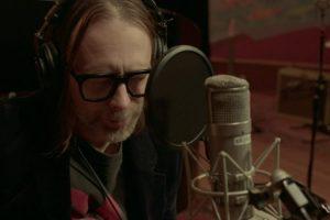 Thom Yorke al piano en los Electric Lady Studios (NY).