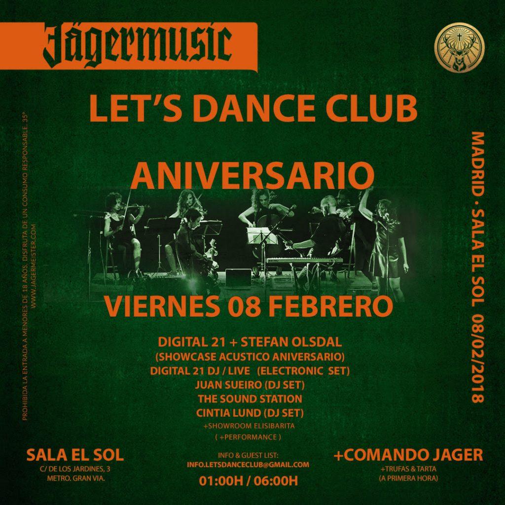 let´s dance club aniversario en sala el sol