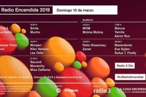 radio encendida 2019 horarios
