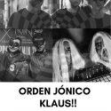 orden jónico, klaus!! y elektro bigots en Madrid