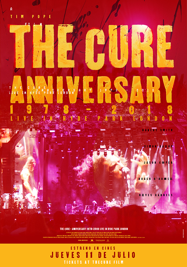The Cure Anniversary en cines