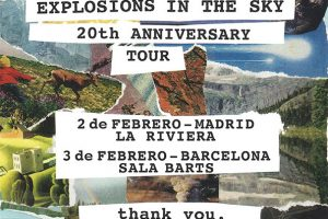 explosions in the sky anniversary tour 20