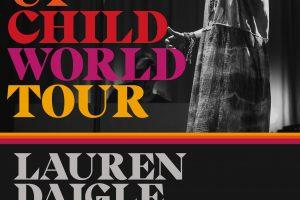 look up child world tour lauren daigle
