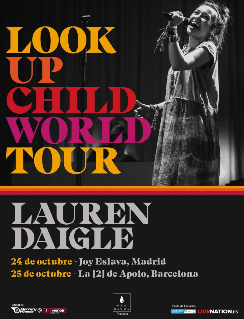 look up child world tour lauren daigle