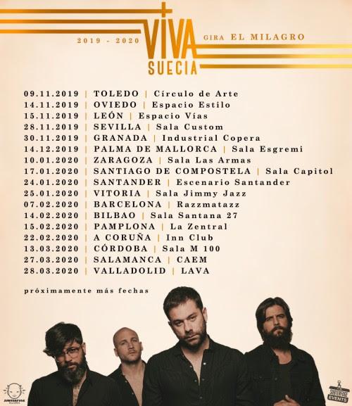 El milagro de Viva Suecia sale de gira