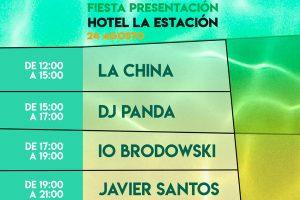 Fiesta presentación Visor Fest