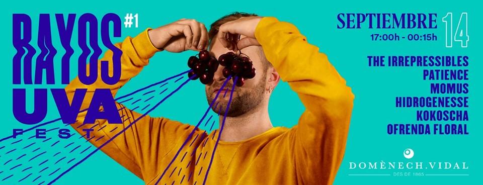 rayos uva fest septiembre en barcelona