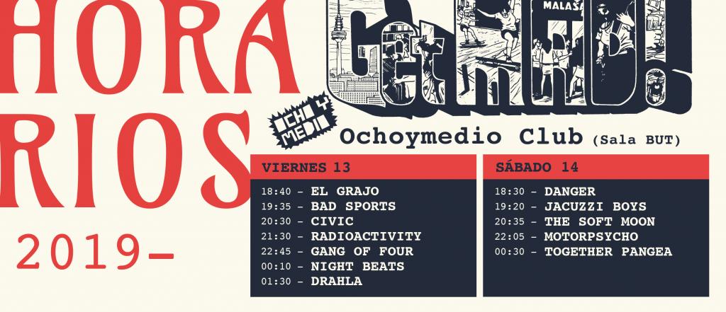 horarios getmad! 2019 madrid