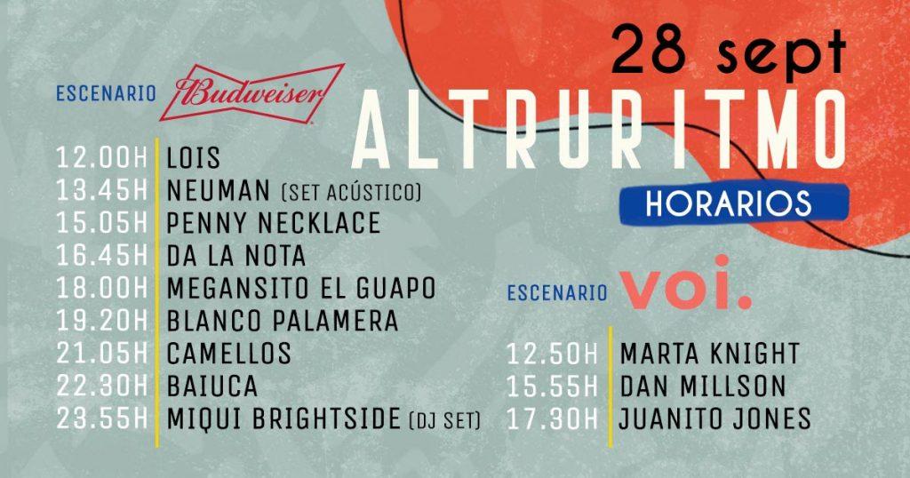 horarios festival altruritmo 2019