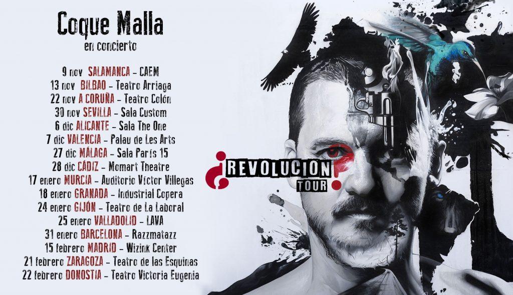 gira 2019 coque malla