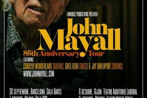 john mayall 85th anniversary tour
