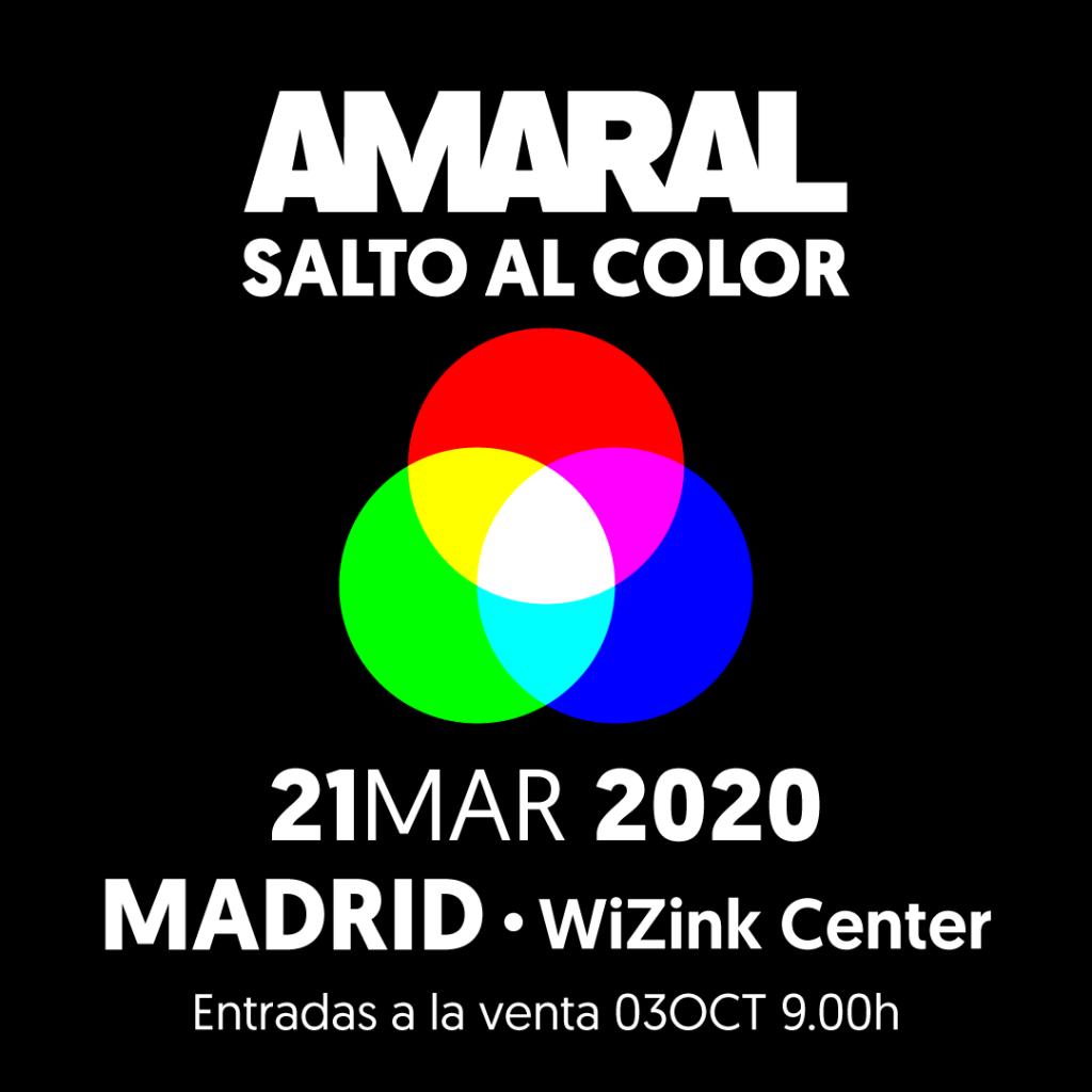 amaral presenta gira salto al color y paso por el Wizink Center