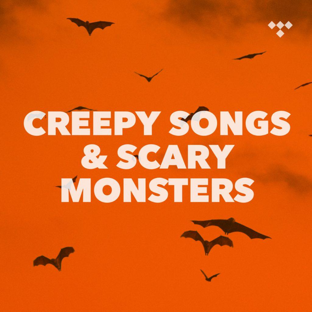 listas musicales halloween
