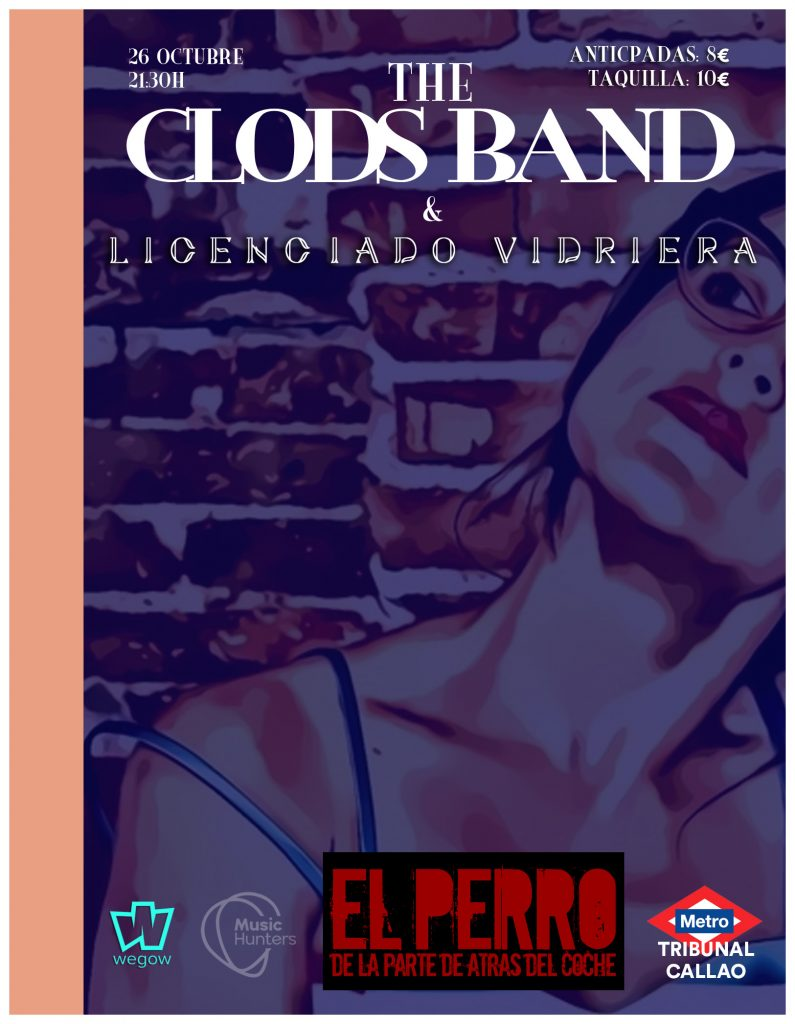 the clods band en madrid
