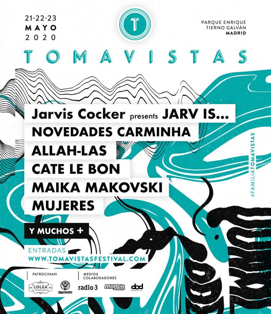 JARV IS, mujeres, allah-las, cate le bon y más en Tomavistas Festival