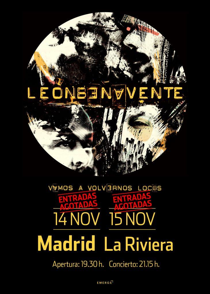 doblete con todo vendido en Madrid para León Benavente