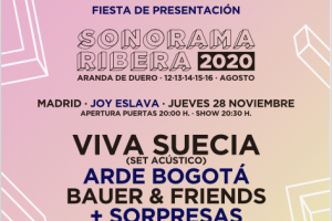 fiesta presentación sonorama 2020