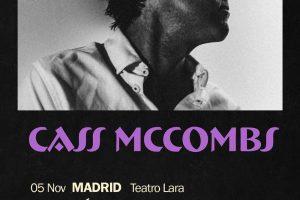 Cass MCCombs lleva Tip Of The Sphere esta semana a Madrid