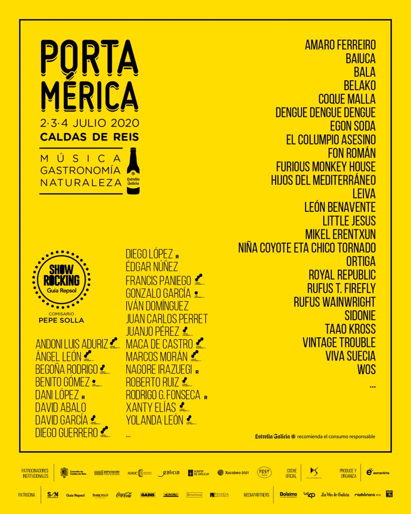 PortAmérica 2020 primeras confirmaciones