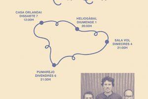 El petit de cal eril gira por Barcelona