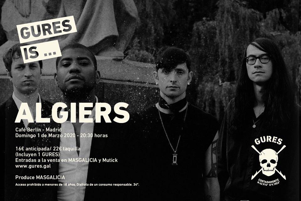 gures is on tour presenta Algiers