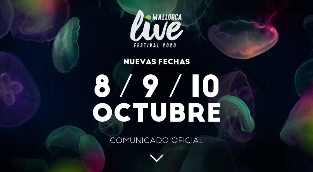 mallorca live festival aplazado