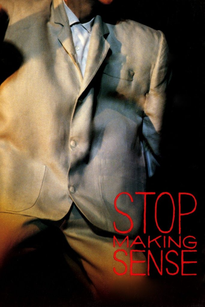 stop making sense de Talking Heads