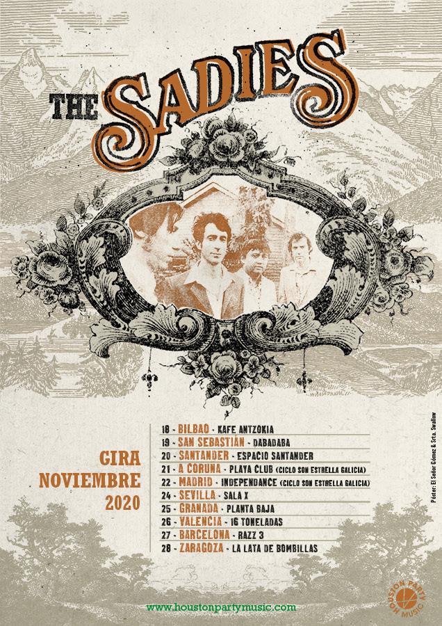 the sadies pasan su gira a noviembre de 2020