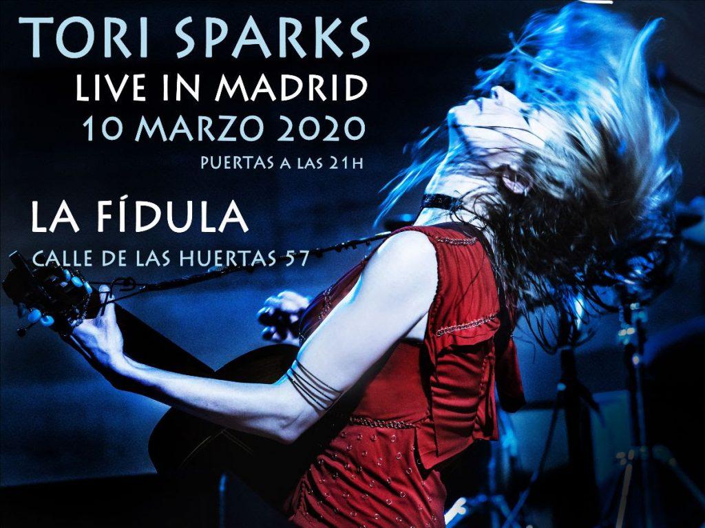 Tori Sparks presenta 'Wait No More' en Madrid por partida doble