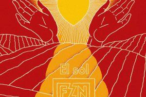 El Sol Fuerza Nueva- portada de Javier Aramburu