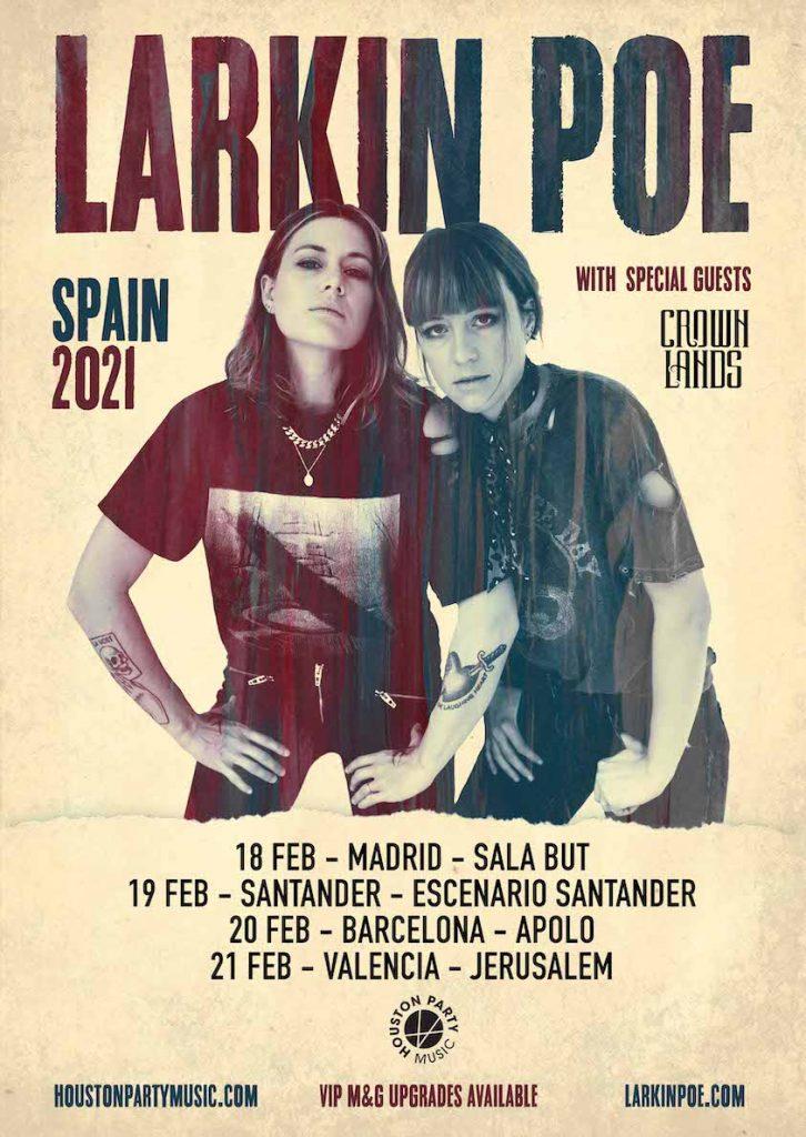Larkin Poe gira española 2021