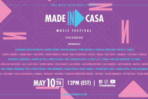 Made In: Casa festival online de música de Sony