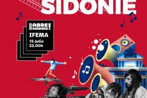Sidonie en Madrid dentro de Vibra Mahou en el ciclo Abre Madrid