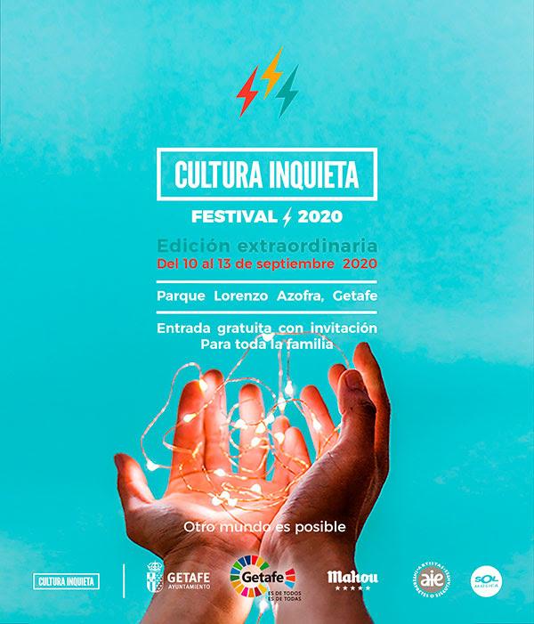 festival cultura inquieta gratuito en septiembre