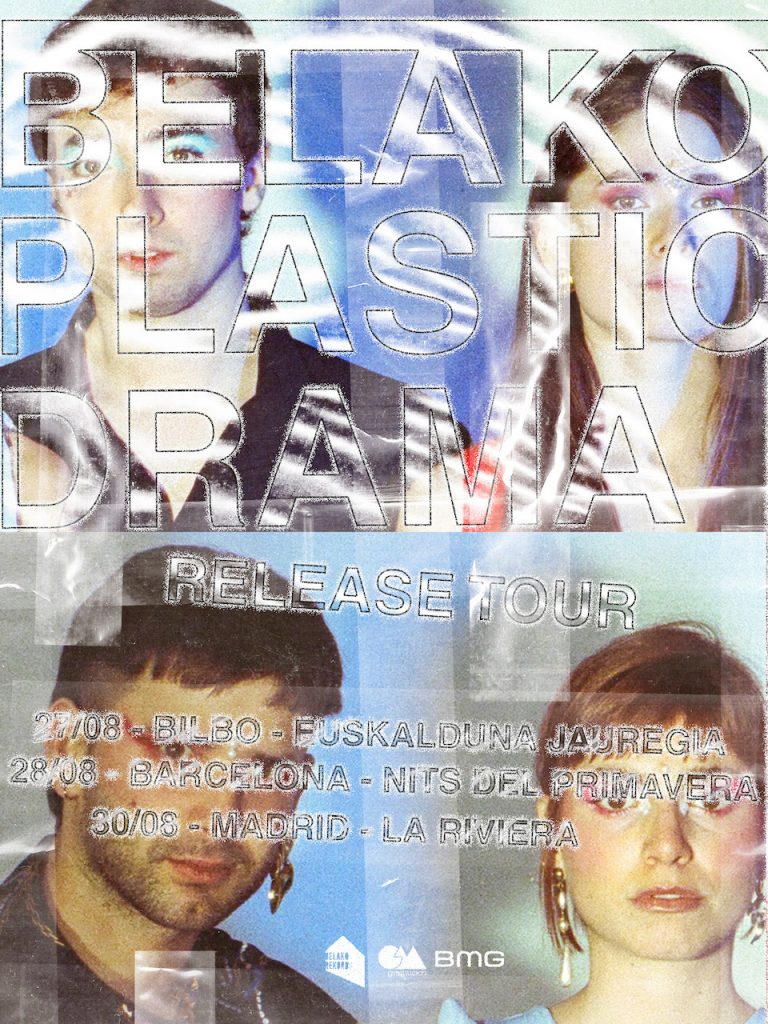 Belako en bilbao Barcelona y Madrid presentando Plastic Drama