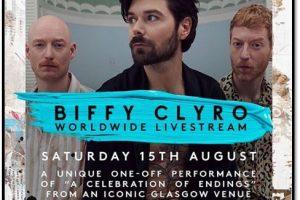biffy clyro worldwide livestream glasgow august 15 new album