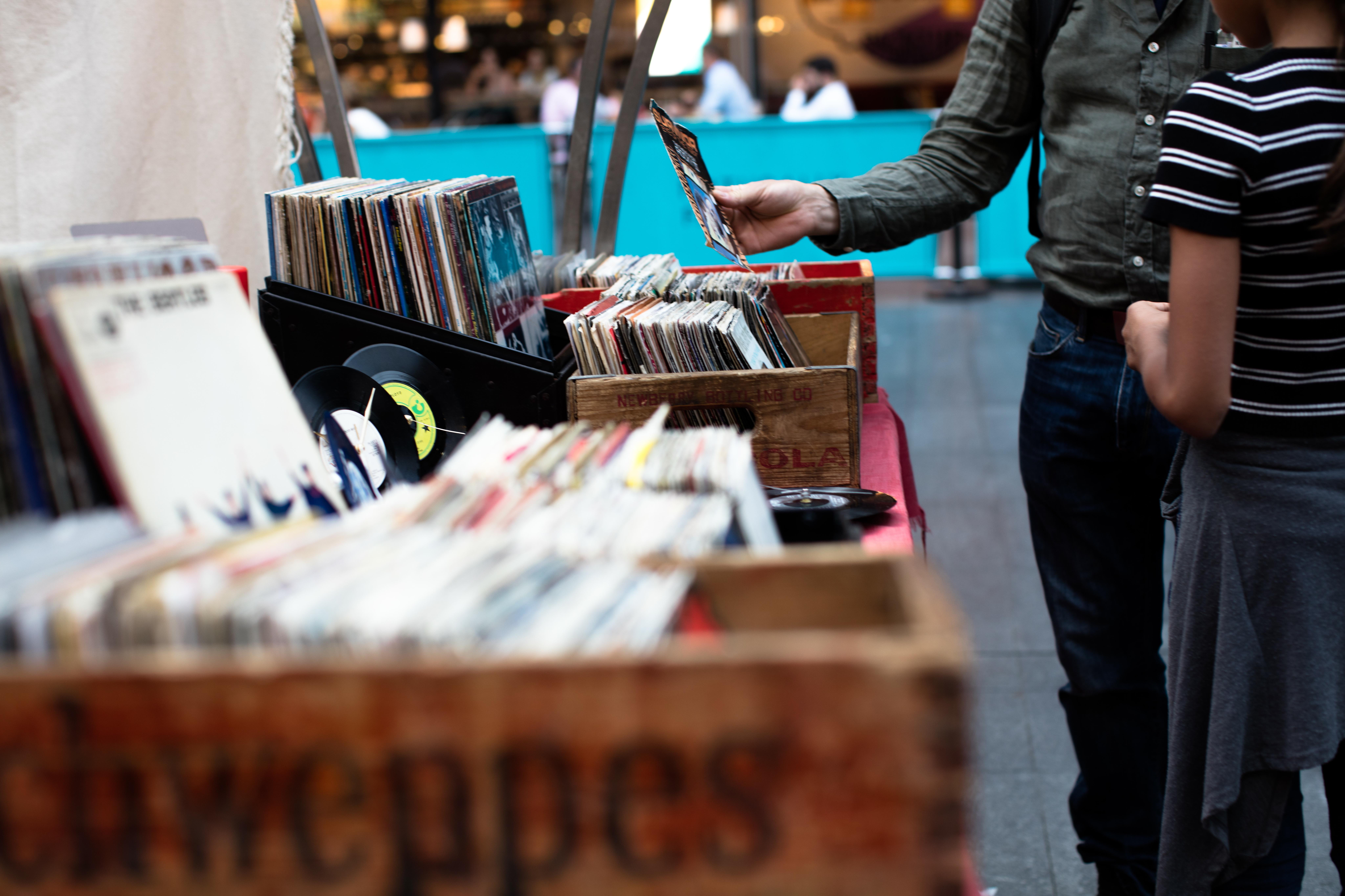 music merchandising