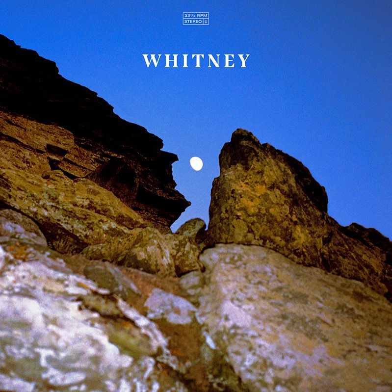 whitney candid album cover