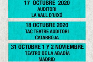 Mastodonte de gira en octubre 2020