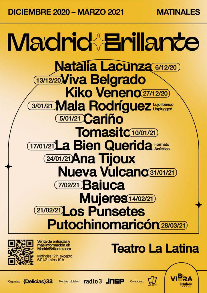 llega madrid brilante al teatro la latina