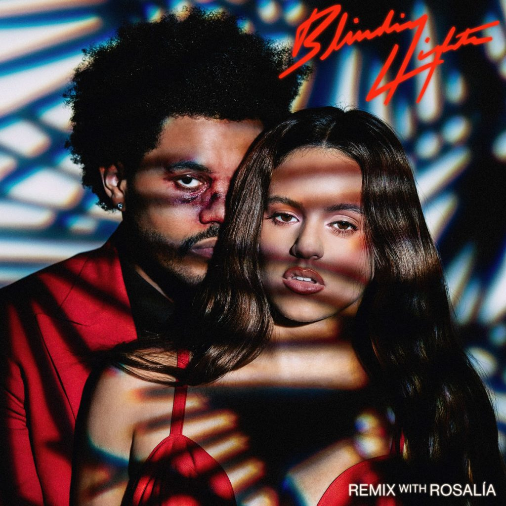 the weeknd remix with rosalia