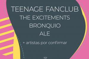 Teenage Fanclub, The Excitements, Bronquio y ALE, primeras confirmaciones de 17° Ribeira Sacra Festival 2021