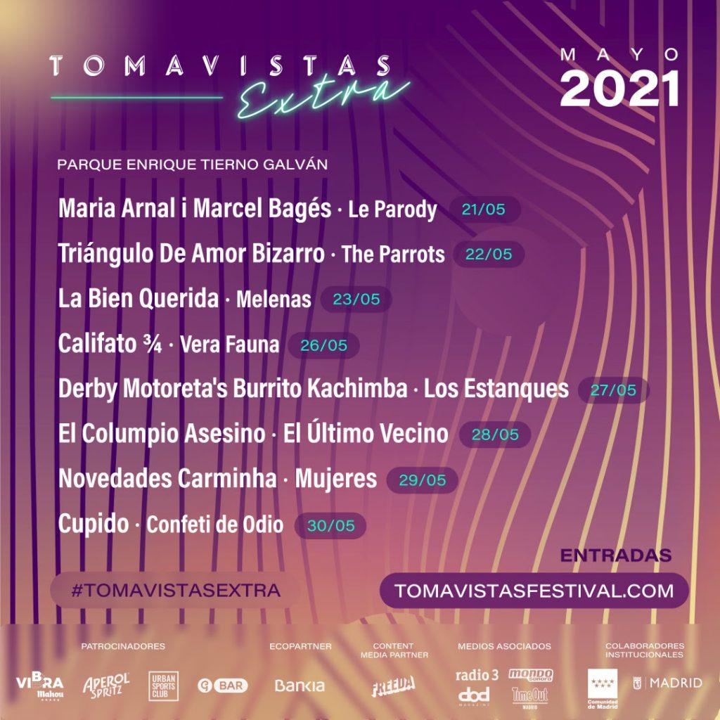 TOMAVISTAS EXTRA EN MAYO 2021