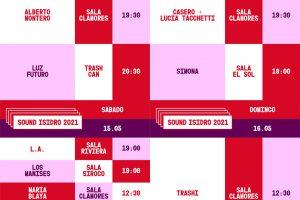 sound isidro 2021 tercera semana