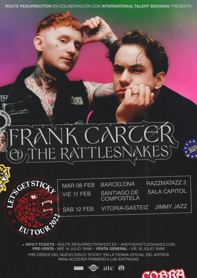 Frank-Carter-gira-2022-sticky-spain