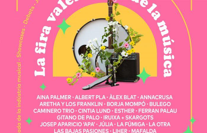 La Fira Valenciana de la Música añade 12 nuevos artistas y completa la programación de su novena edición